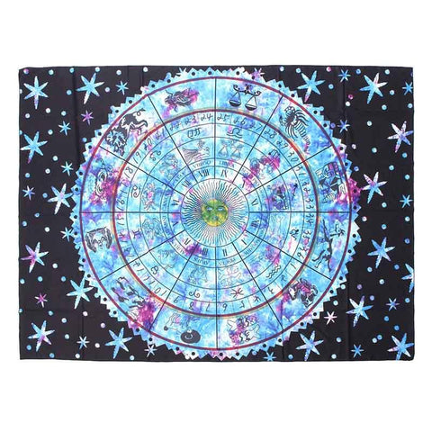 Zodiac Mandala Tapesty/Wall Hanging/Tablecloth Decor 150cm*200cm - Her Majesty's Goods