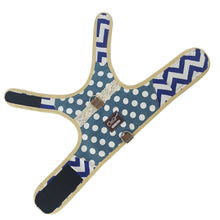 Escape Proof Cat Harness with Leash X-Small, Adjustable Cat Walking Jackets, Padded Cat Vest Polka Dot Blue