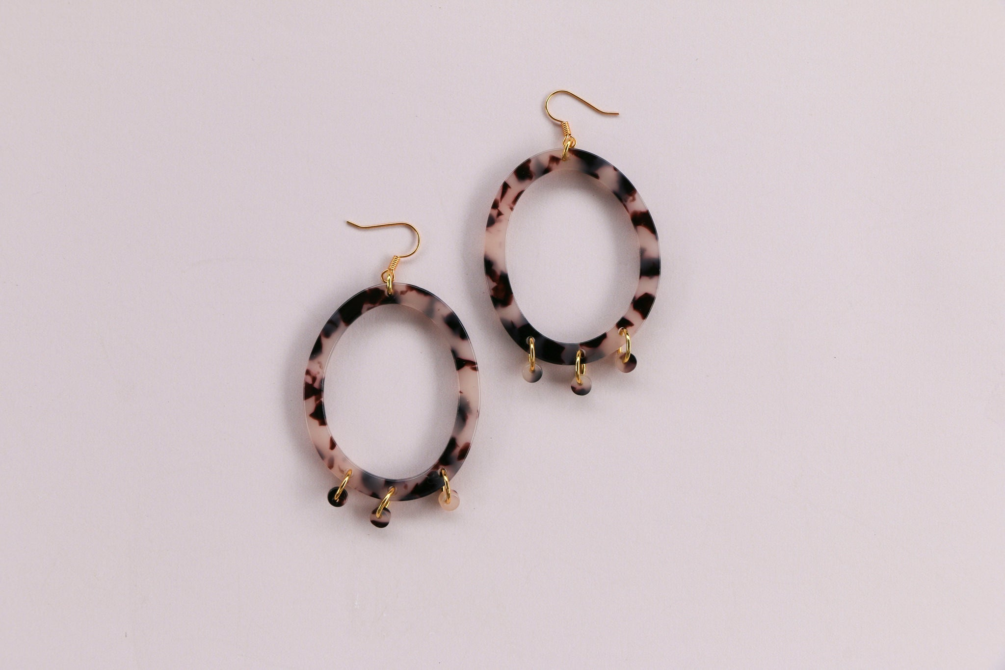 Poppy Earrings - Leopard