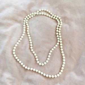 Long Rose Beaded Necklaces