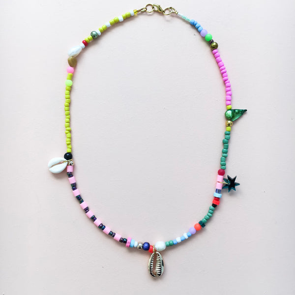 Pink & Yellow Necklace