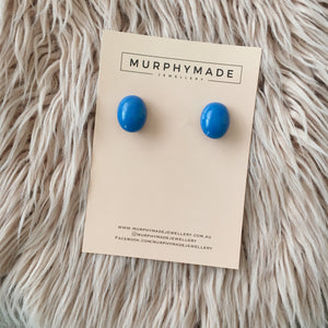 Royal Blue Studs