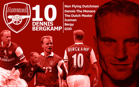 Dennis Bergkamp - Dutch Arsenal Legend