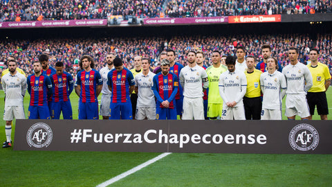Football unites for Chapecoense FC