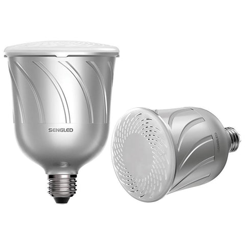 Sengled Pulse Dimmable LED Light with 2 Bluetooth Speakers - Makerwiz