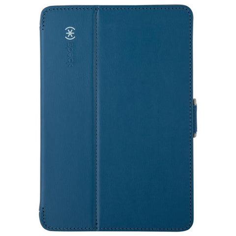 Speck iPad mini 4 StyleFolio Deep Sea Blue/Nickel Grey - Makerwiz