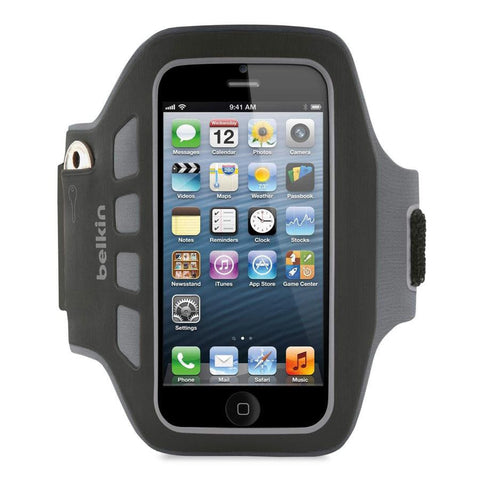 BELKIN-EASEFIT PLUS ARMBAND FOR IPHONE 5 - Makerwiz