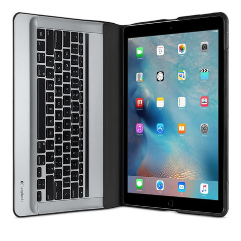 Logitech Create Backlit Keyboard Case iPad Pro Smart Connector Black - Makerwiz