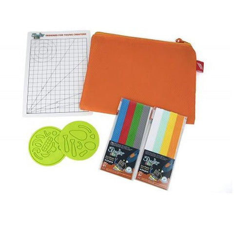 3Doodler Start DoodlePad, 2 Plastic Pks, 2 Blocks, Guidebook