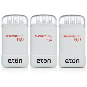 Eton Blackout Buddy H20 three pack, White