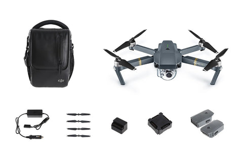 DJI Mavic Pro Quadcopter Drone - Fly More Bundle - Makerwiz