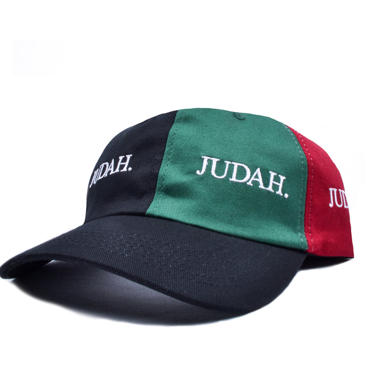 JUDAH. MULTI COLOUR 6 PANEL CAP