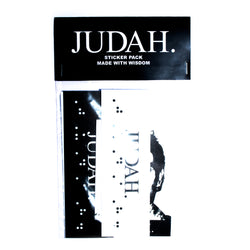 JUDAH. ASSORTED STICKER PACK