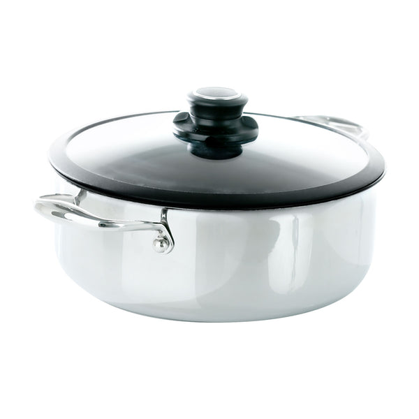 Black Cube™ High Performance Stockpot with Lid by Frieling