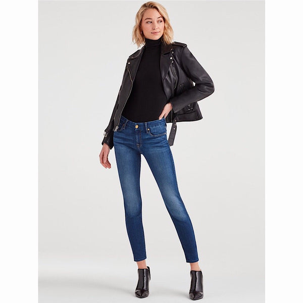 7 for All Mankind® Jeans - The Ankle Skinny B(air) in Dutchess