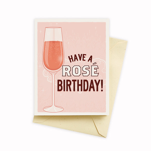 Seltzer Goods® Card - Have a rosé birthday!