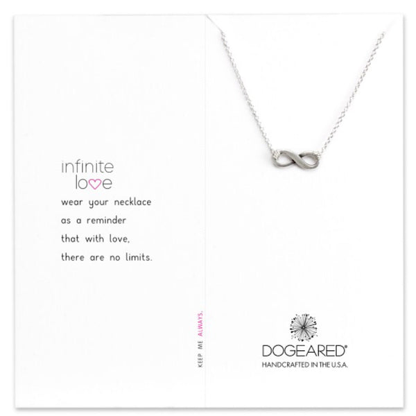Dogeared® Sterling Silver Infinite Love Necklace