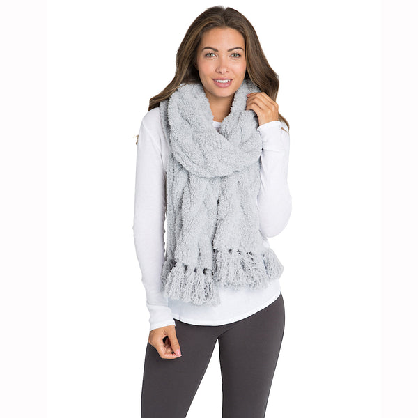 Barefoot Dreams® CozyChic® Cable Scarf
