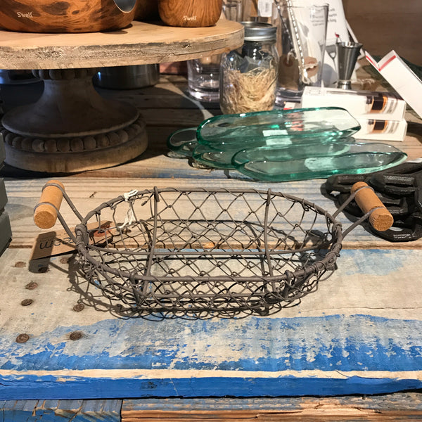 Park Hill Oval XS Wire Basket