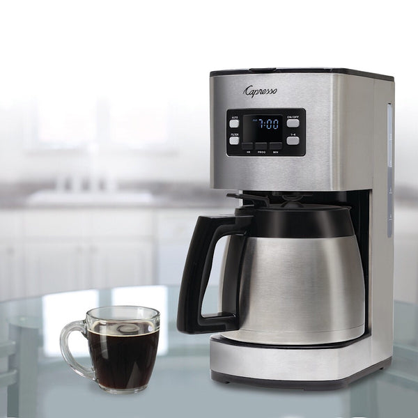 Capresso® ST300 Stainless Steel Coffee Maker