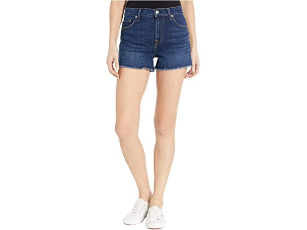 7 for All Mankind® High Waist Shorts in Fletcher Drive