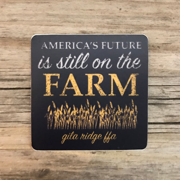 Gila Ridge FFA Vinyl Sticker - America's Future