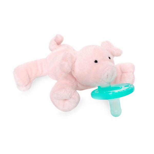 WubbaNub® Infant Pacifier - Pink Pig