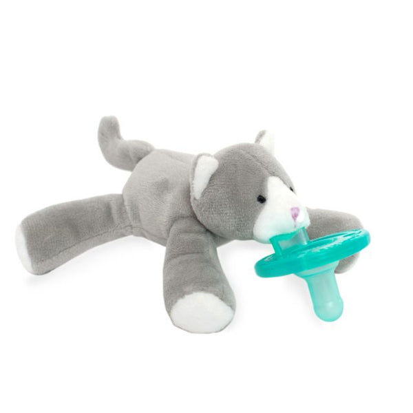 WubbaNub® Infant Pacifier - Grey Kitten