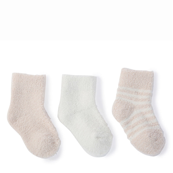 Barefoot Dreams® CozyChic® Lite Infant Sock Set of 3