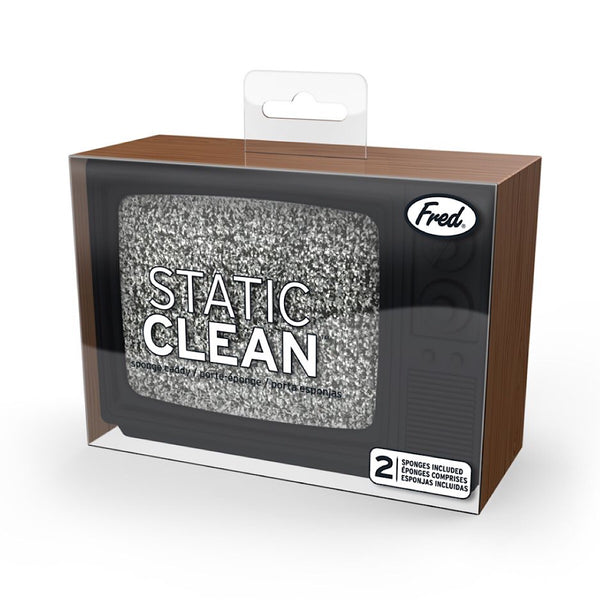Fred & Friends® Static Clean TV Sponge Holder