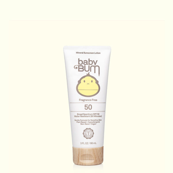 Babybum® Mineral Sunscreen Lotion SPF 50 - 3oz