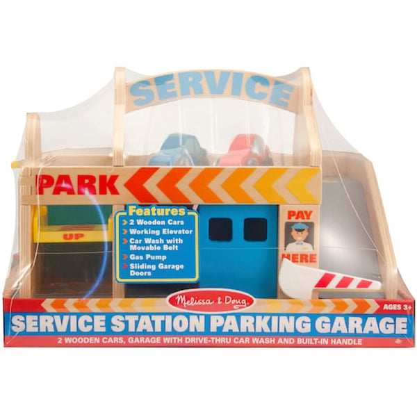 Melissa and Doug® Service Station Parking Garage