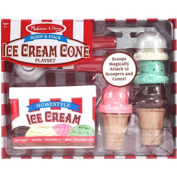Melissa and Doug® Scoop and Stack Ice Cream Set