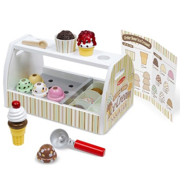 Melissa and Doug® Ice Cream Counter