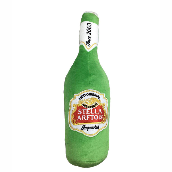 Haute Diggity Dog® Stella Artois Beer Bottle Squeaker Toy