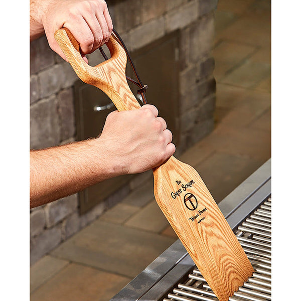 Great Scrape® Woody Shovel Grill Scraper