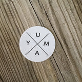 Yuma Roots® Yuma X Vinyl Sticker