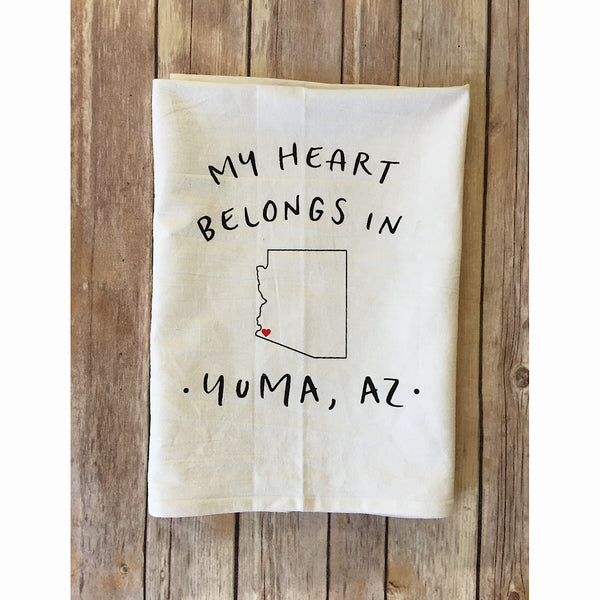 "Dream Towel ""My Heart Belongs in Yuma"""