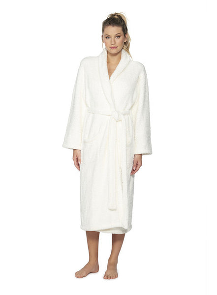 Barefoot Dreams® CozyChic™ Original Adult Robe in Pearl Cream