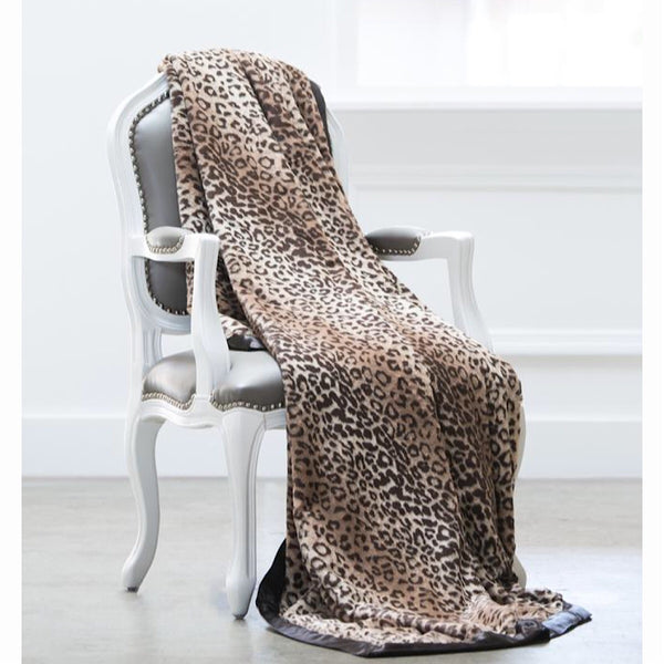 Giraffe at Home® Luxe Leopard™ Throw