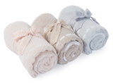 Barefoot Dreams® CozyChic® Scalloped Receiving Blanket
