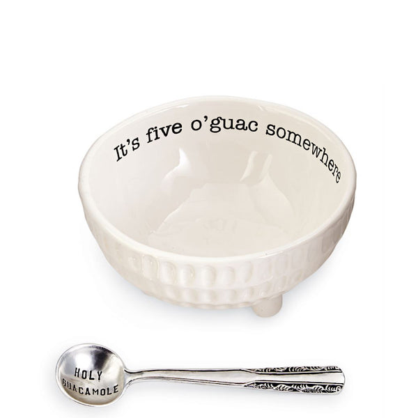 Mud Pie® Ceramic Guacamole Dip Cup Set
