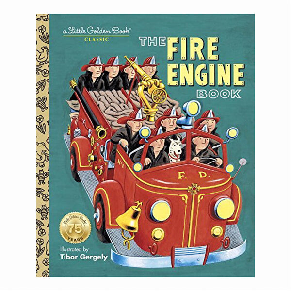 Little Golden Books® - The Fire Engine Book