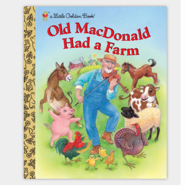 Little Golden Books® - Old MacDonald Had a Farm