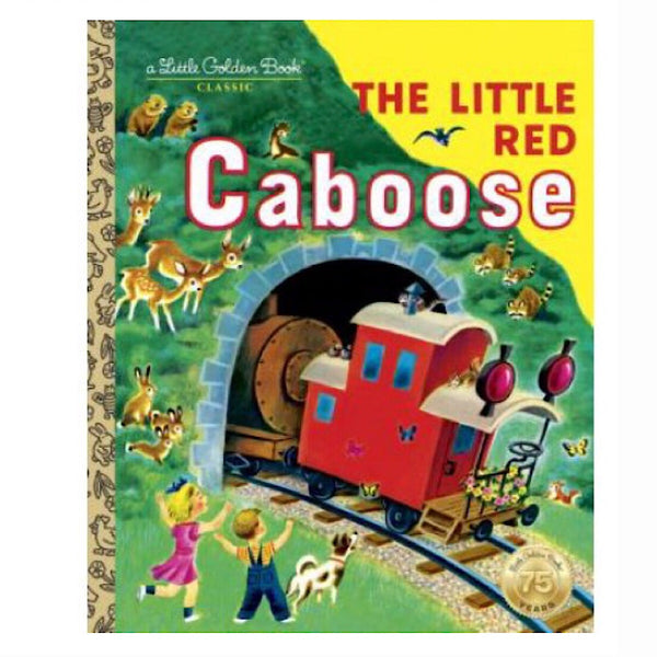 Little Golden Books® - The Little Red Caboose