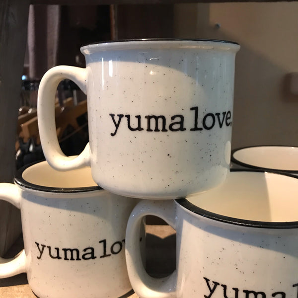 Yuma Roots® Ceramic Camper Style Mug 18oz