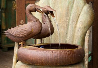 Park Hill® Double Duck Fountain