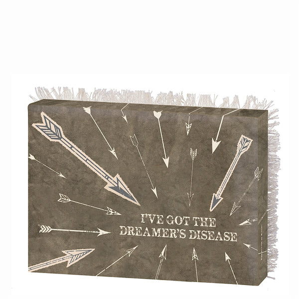 "Primitives by Kathy® Canvas Box Sign ""Dreamer's Disease"""