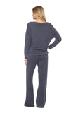 Barefoot Dreams® CozyChic Ultra Lite® Slouchy Pullover Pacific Blue