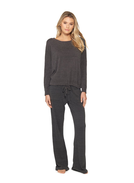 Barefoot Dreams® CozyChic Ultra Lite® Slouchy Pullover Carbon